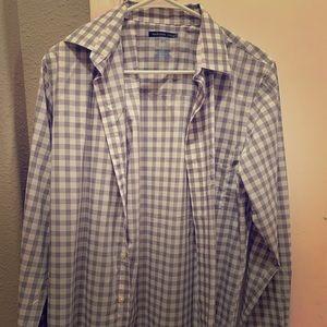 Van heusen button shirt, slim fit